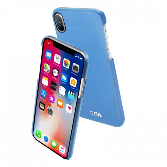 super popular 69a53 9130e SBS Cover Color Feel for iPhone X